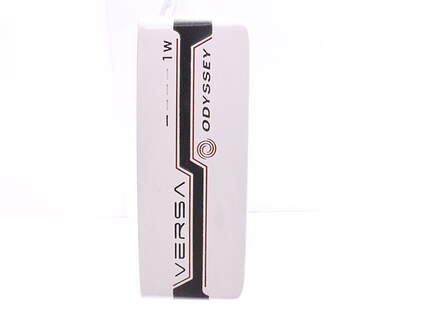 Odyssey Versa #1Wide White Black White Putter Steel Right Handed 35 in