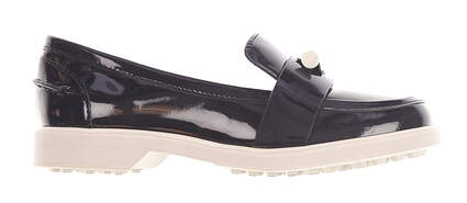 New Womens Tory Sport Pocket-Tee Golf Loafers 6 Navy MSRP $278 43447