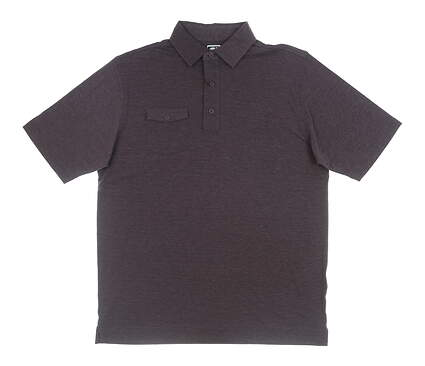 New Mens Footjoy Athletic Fit Golf Polo Large L Plum MSRP $76 22848