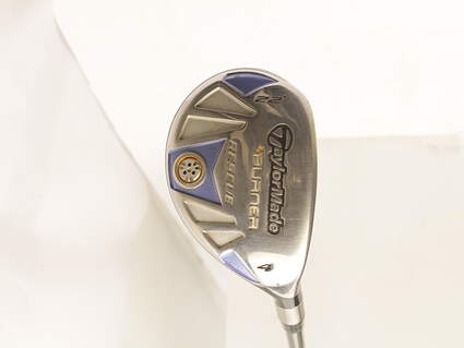 TaylorMade Burner Rescue Hybrid 4 Hybrid 22* TM Reax Superfast 50 Graphite Ladies Right Handed 38.75 in
