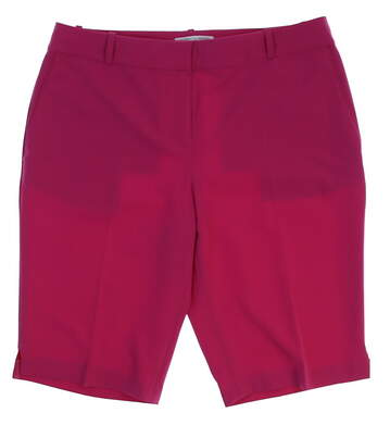 New Womens Fairway & Greene Golf Shorts Size 10 Pink MSRP $105