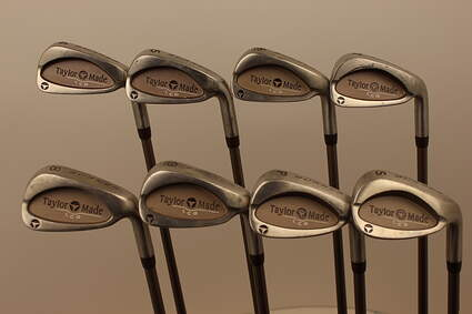TaylorMade Burner LCG Iron Set 4-PW SW TM Bubble 2 Graphite Ladies Right Handed 37.5 in