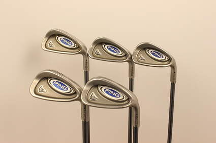 Ping i5 Iron Set 6-PW Accra I Series Graphite Senior Right Handed 36.75 in