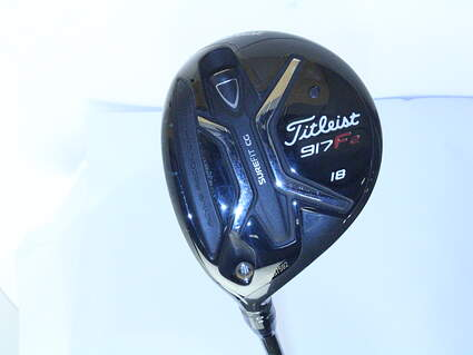 Titleist 917 F2 Fairway Wood 5 Wood 5W 18* Diamana S+ 70 Limited Edition Graphite Regular Left Handed 42.5 in