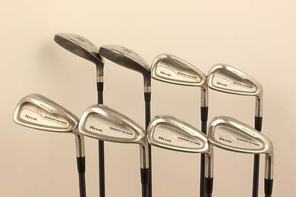 Mizuno Tava Iron Set 7H 9H 6-PW SW Stock Graphite Shaft Graphite Ladies Right Handed 38 in