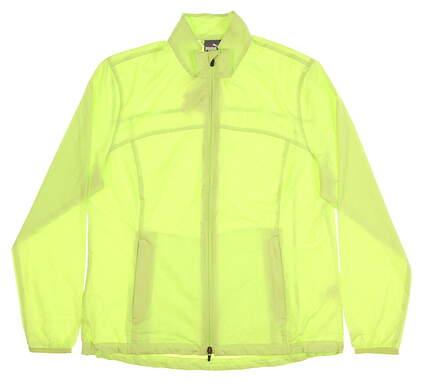 New Womens Puma Tech Wind Jacket X-Large XL Sharp Green MSRP $70 570549 05