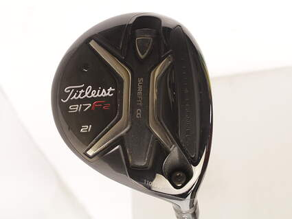 Titleist 917 F2 Fairway Wood 7 Wood 7W 21* Diamana M+ 50 Limited Edition Graphite Ladies Right Handed 42 in
