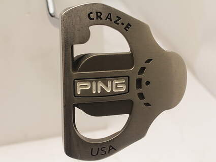 Ping Karsten Series Craz-E Putter Stock Steel Shaft Steel Right Handed Black Dot 34 in