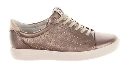 New Womens Golf Shoe Ecco Casual Hybrid Perf 40 (9-9.5) Warm Grey MSRP $160