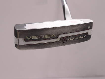 Odyssey Versa #6 Black Putter Steel Right Handed 31 in
