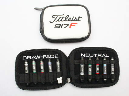 Titleist 917 Full Fairway Weight Kit Including Leather Case