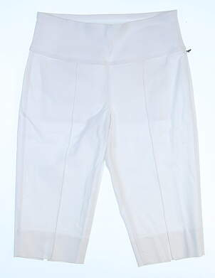 New Womens Jo Fit All Shorts Size XX-Large XXL White MSRP $98