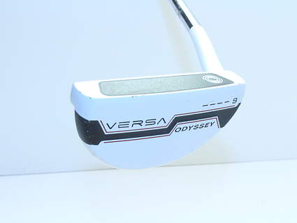 Odyssey Versa #9 White Black White Putter Steel Right Handed 35 in