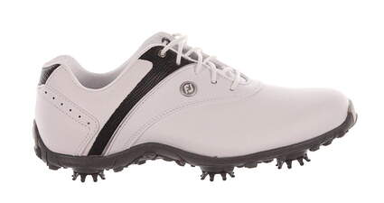 New Womens Golf Shoe Footjoy LoPro Collection Medium 9 Black/White MSRP $60