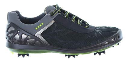 New Womens Golf Shoe Ecco Cage EVO 39 (8-8.5) Black/Green MSRP $190