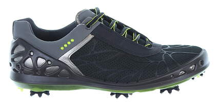 New Womens Golf Shoe Ecco Cage EVO 36 (5-5.5) Black/Green MSRP $190