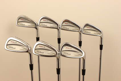 Titleist 695 CB Forged Iron Set 4-PW TM Royal Precision Rifle Steel Steel Regular Right Handed 38 in