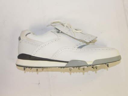 New Etonic ST 7500 Mens Golf Shoe sz 9M White