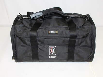 "Titleist Club Life Duffle Bag TPC Boston Black 20"" x 11"" x 10"" Golf MSRP $130"