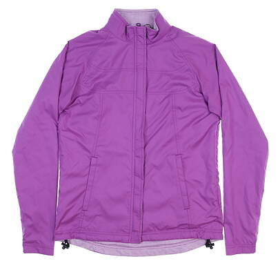 New Mens Peter Millar Reversible Golf Jacket X-Small XS Purple MSRP $120 LS15EZ25A