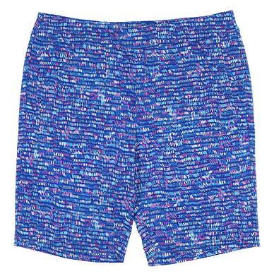 New Womens EP Pro NY Splash Dot Print Shorts Size X-Large XL Blue MSRP $85 8241NBD