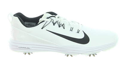 New Mens Golf Shoe Nike Lunar Command 2 12 White MSRP $135