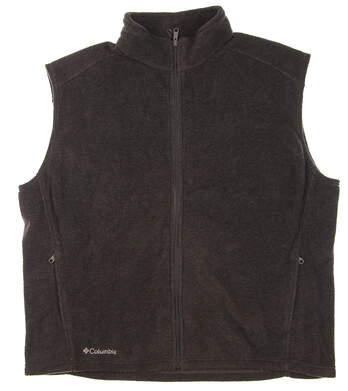 New Mens Columbia Fleece Flanker Vest XX-Large XXL Gray MSRP $55 C1252MF
