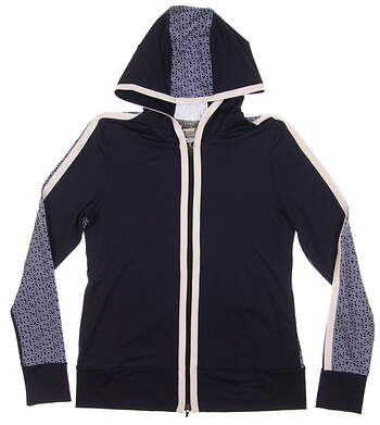 New Womens Puma Golf Hoodie Small S Peacoat MSRP $75 574646 01