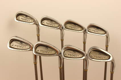 Cobra Lady Gravity Back Iron Set 4-PW SW Stock Graphite Shaft Steel Ladies Right Handed 37 in