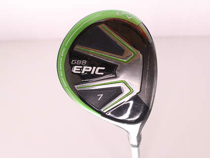 Callaway GBB Epic Fairway Wood 7 Wood 7W 21* Mitsubishi Diamana M+ Green 50 Graphite Ladies Right Handed 41 in