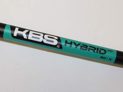 "Used W/ Adapter TaylorMade KBS Hybrid 80 Shaft X-Stiff Flex 38.5"" Right Handed TaylorMade Adapter"