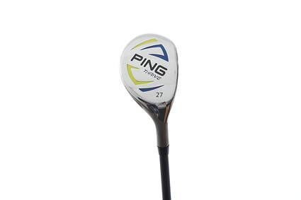 Above Average Ping Thrive Ages 13-14 Hybrid 5 Hybrid 27* Stock Graphite Shaft Graphite Right Handed 37.75 in With Headcover