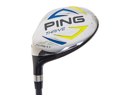 Ping Thrive Fairway Wood 5 Wood 5W 18.5° Stock Graphite Shaft Graphite Left Handed 40.75in