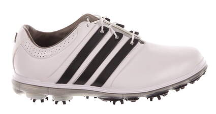 New Mens Golf Shoe Adidas Pure 360 Limited Medium 7.5 White/Black MSRP $300