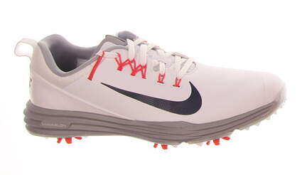 New Mens Golf Shoe Nike Lunar Command 2 8.5 White/Black MSRP $135 849968 105