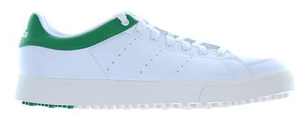 New Junior Golf Shoe Adidas Jr Adicross Classic Medium 4 White/Green MSRP $60