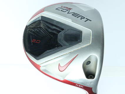 Nike VRS Covert 2.0 Driver 9.5* Mitsubishi Kuro Kage Red 50 Graphite Stiff Right Handed 45 in