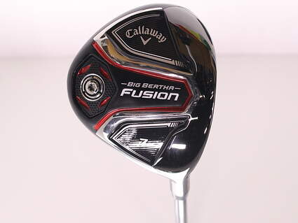Callaway 2016 Big Bertha Fusion Fairway Wood 7 Wood 7W 2nd Gen Bassara E-Series 42 Graphite Ladies Right Handed 41.25 in