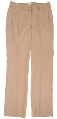 New Womens Sport Haley Golf Pants Size 4 Tan MSRP $80