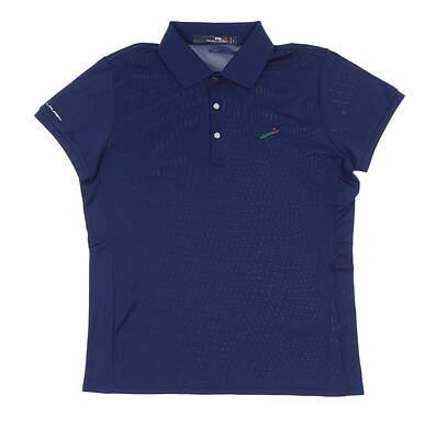 New W/ Logo Womens Ralph Lauren Classic Fit Golf Polo X-Small XS Blue MSRP $99