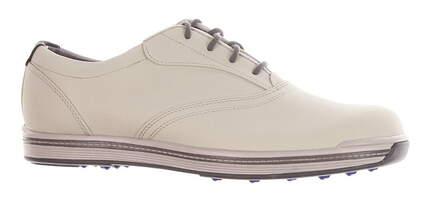 New Mens Golf Shoe Footjoy Contour Casual Medium 9 Cloud MSRP $140