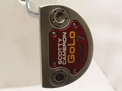 Titleist Scotty Cameron 2014 GoLo 7 Putter Stock Steel Shaft Steel Right Handed 34.5 in