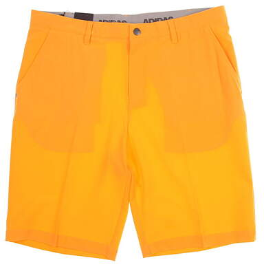 New Mens Adidas Ultimate 365 Shorts Size 35 Orange MSRP $65 CE0451