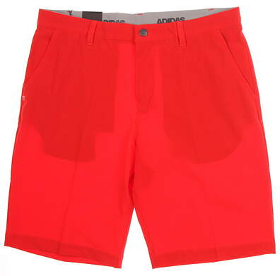New Mens Adidas Ultimate 365 Shorts Size 34 Red MSRP $65 CE0452