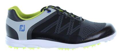 New Womens Golf Shoe Footjoy FJ Sport SL Medium 9 Black/Green MSRP $140