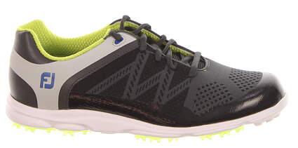 New Womens Golf Shoe Footjoy FJ Sport SL Medium 8.5 Black/Green MSRP $140