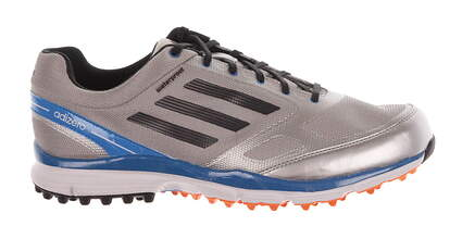 New Mens Golf Shoe Adidas Adizero Sport II Medium 11 Silver MSRP $150