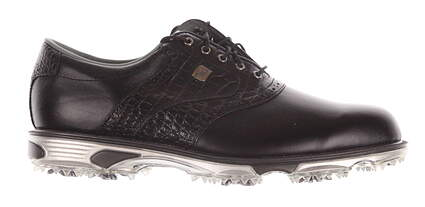 New Mens Golf Shoe Footjoy Dryjoys Tour Wide 8.5 Black MSRP $280