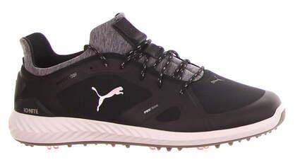 New Mens Golf Shoe Puma IGNITE PWRADAPT Medium 9.5 Puma Black/White MSRP $150