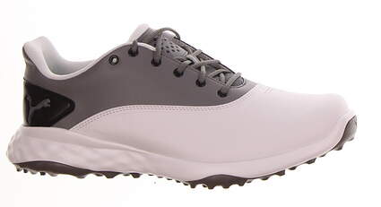New Mens Golf Shoe Puma Grip Fusion Medium 9.5 White/Grey MSRP $80